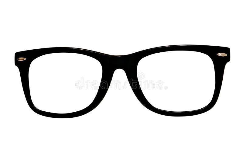 Retro- Gläser getrennt lizenzfreie stockfotografie