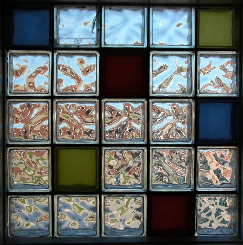Retro Glass Bricks Royalty Free Stock Photos