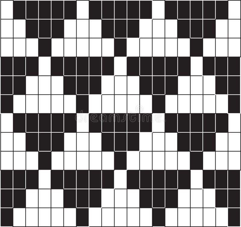 Retro- grafisches nahtloses Muster lizenzfreie abbildung