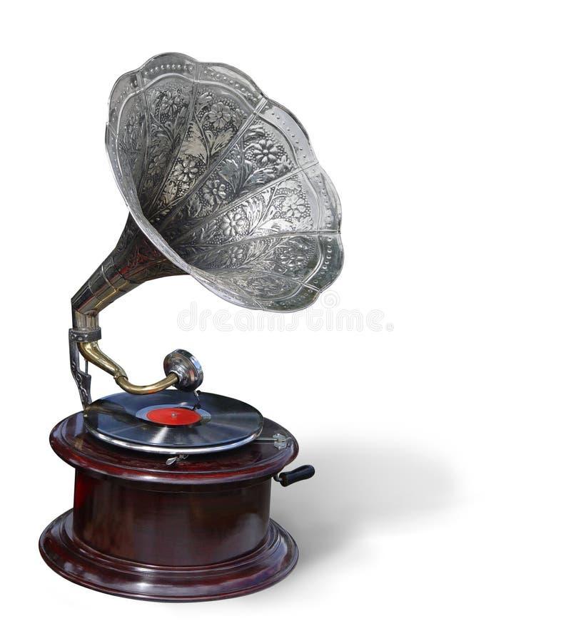 Retro grammofoon royalty-vrije stock foto's