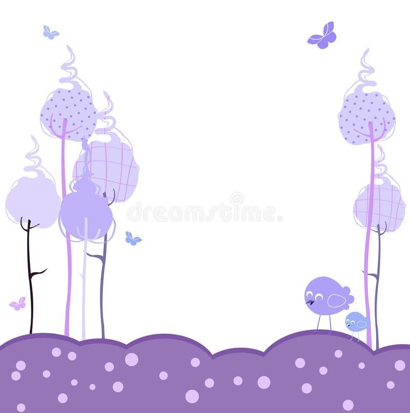 Retro greeting cards vector illustration