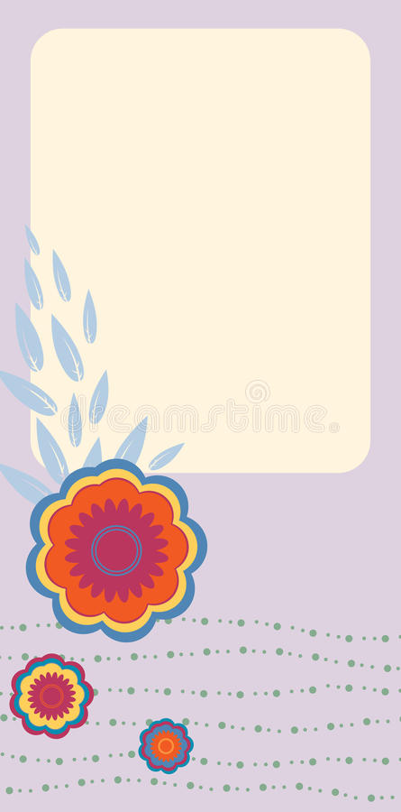 Retro greeting cards vector illustration