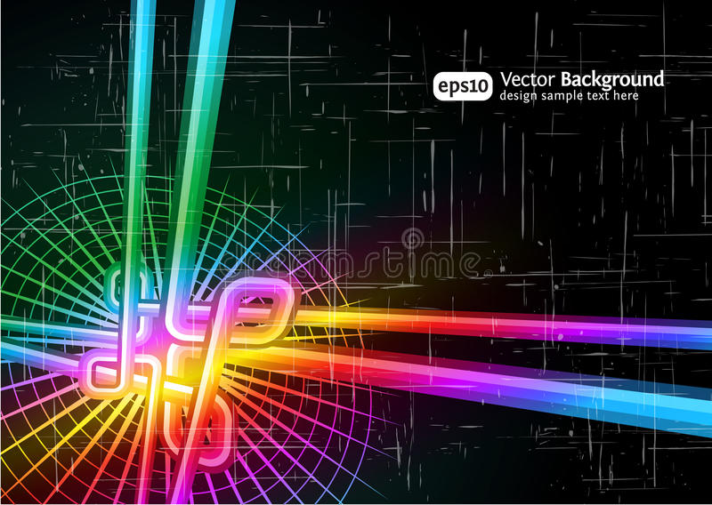 Download Retro grunge background stock vector. Image of abstract - 17544269