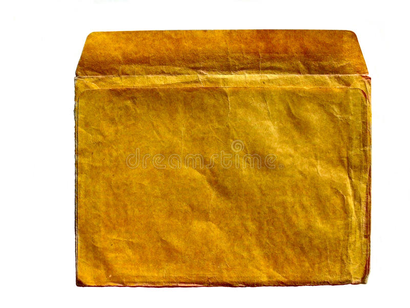 Retro grunge envelope stock photos