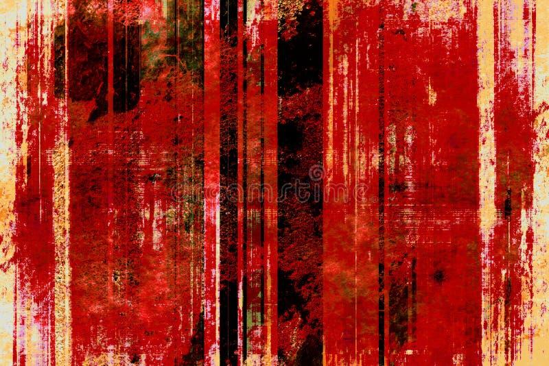 Retro- grunge Hintergrund lizenzfreie abbildung