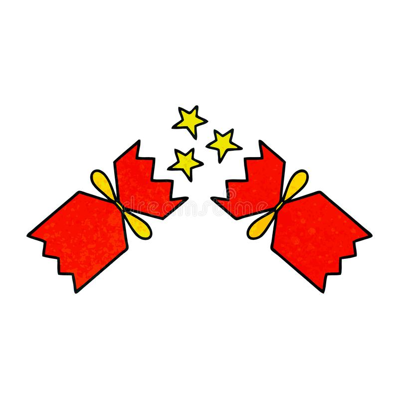 Christmas Cracker Clipart.Cartoon Christmas Cracker Celebration Holiday Cute
