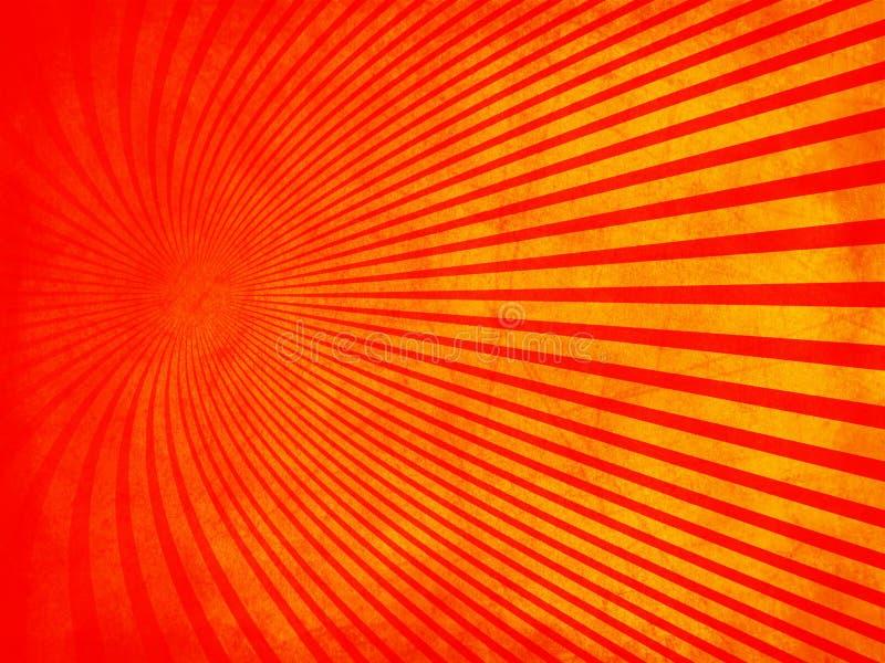 Retro grunge texture red with orange stock image