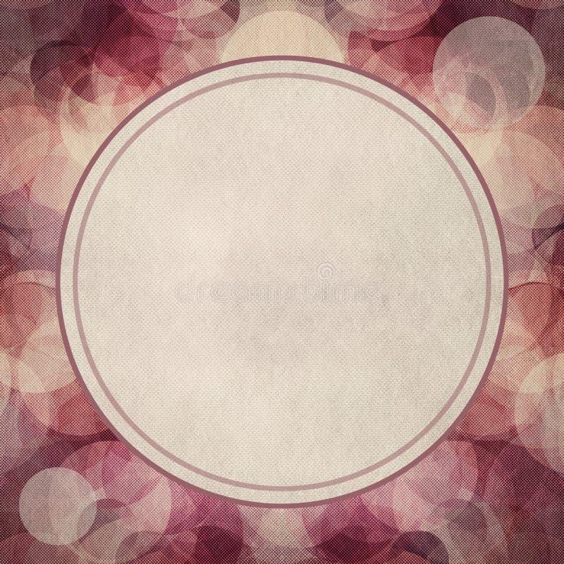 Retro grungeachtergrond of textuur royalty-vrije illustratie