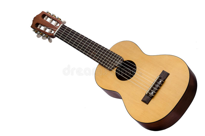 Download Retro Guitar Isolated On White Stock Image - Image: 31630943