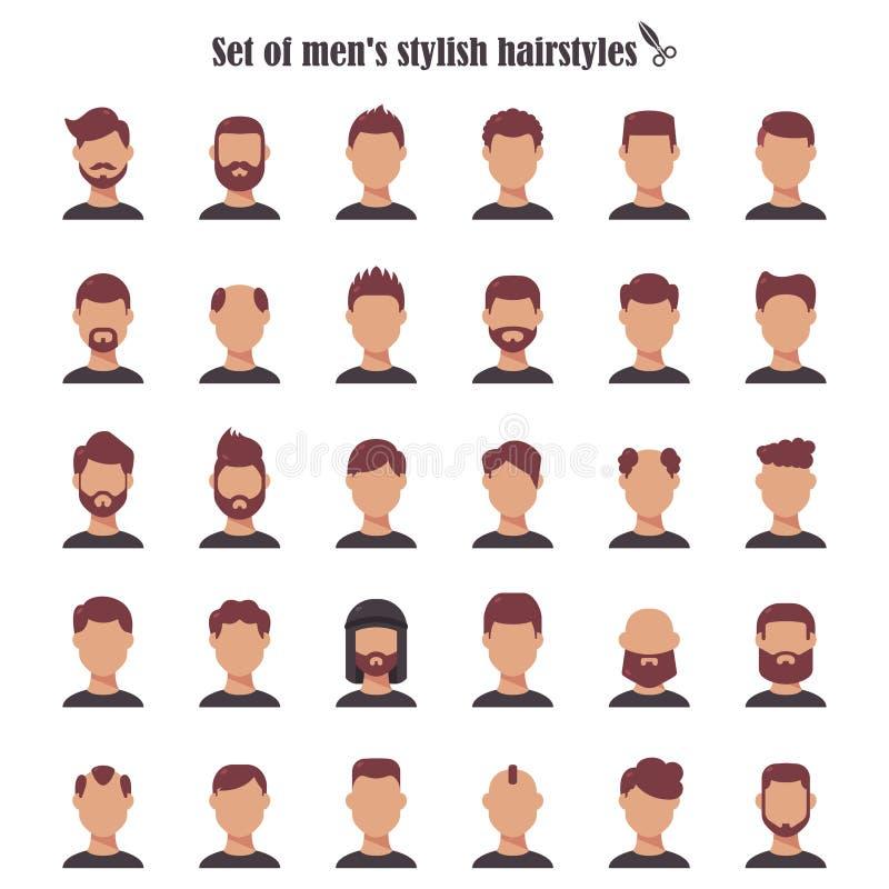 Wondrous Hairstyle Men Stock Illustrations 10 175 Hairstyle Men Stock Schematic Wiring Diagrams Amerangerunnerswayorg