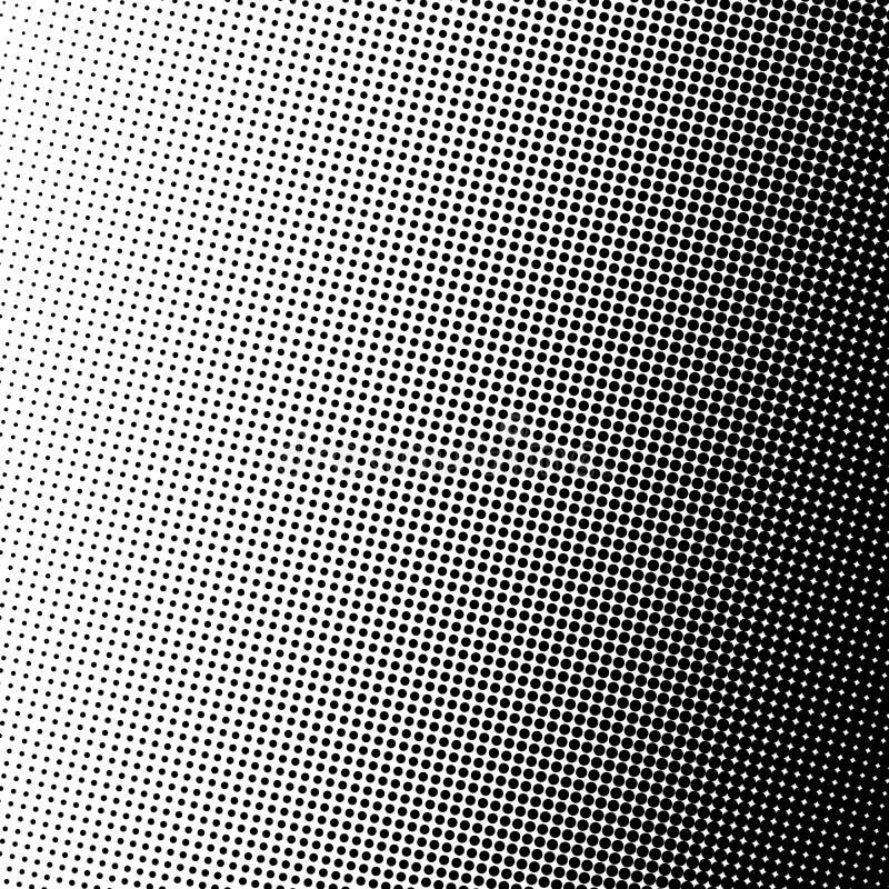 Retro Halftone Gradient Circle Background Stock Vector