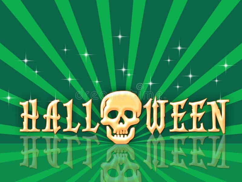 Retro Halloween stock illustratie