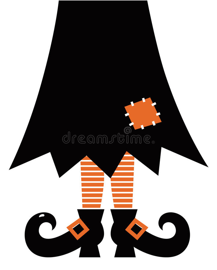 Download Retro Halloween Witch Stock Photography - Image: 27357752