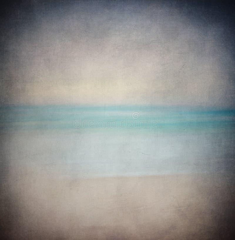 Retro havsbakgrund arkivbild