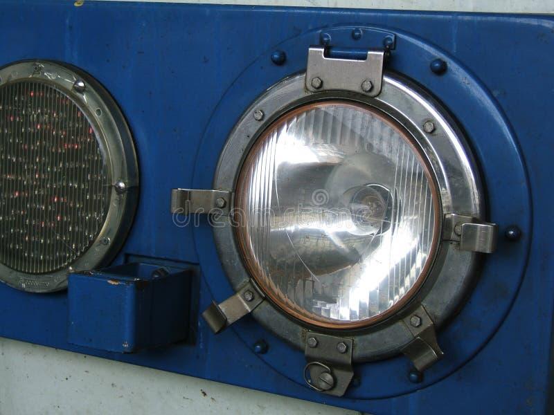 Retro Headlamps Stock Photo