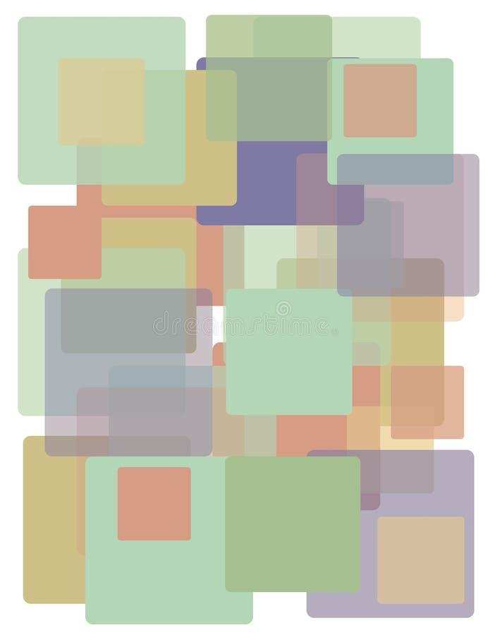 Retro- Hintergrund lizenzfreie abbildung