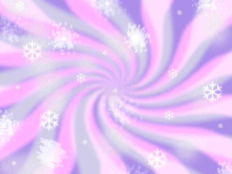Retro- Hintergrund der Eiscreme lizenzfreie abbildung