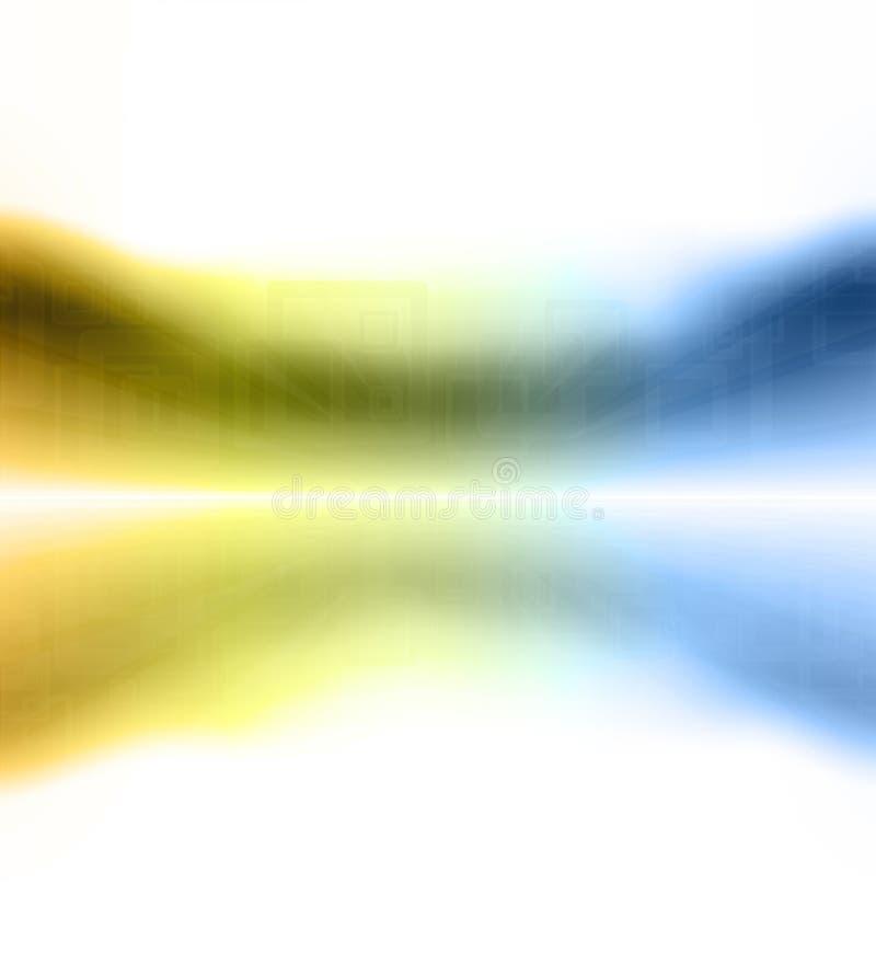retro horyzontu zoom ilustracja wektor