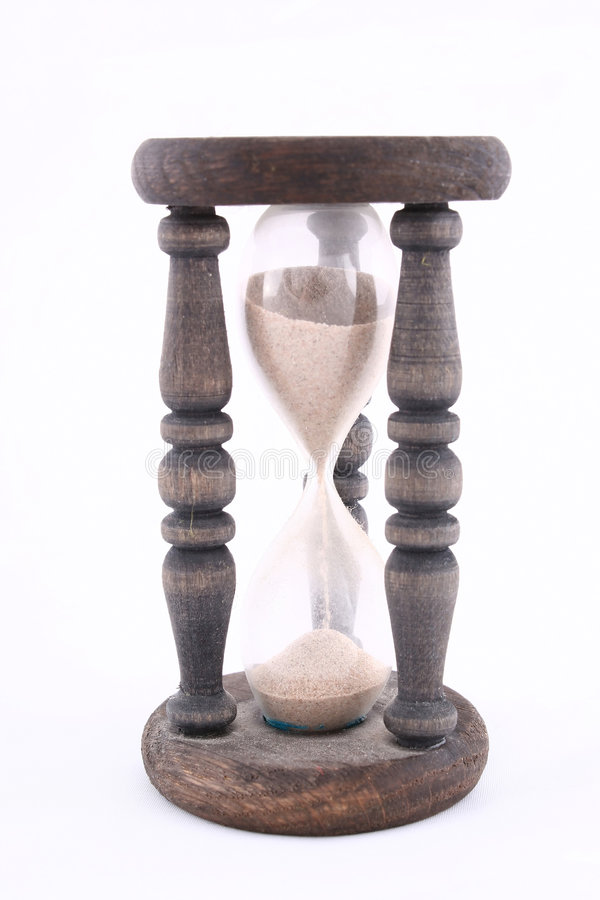Retro hourglass royalty free stock images