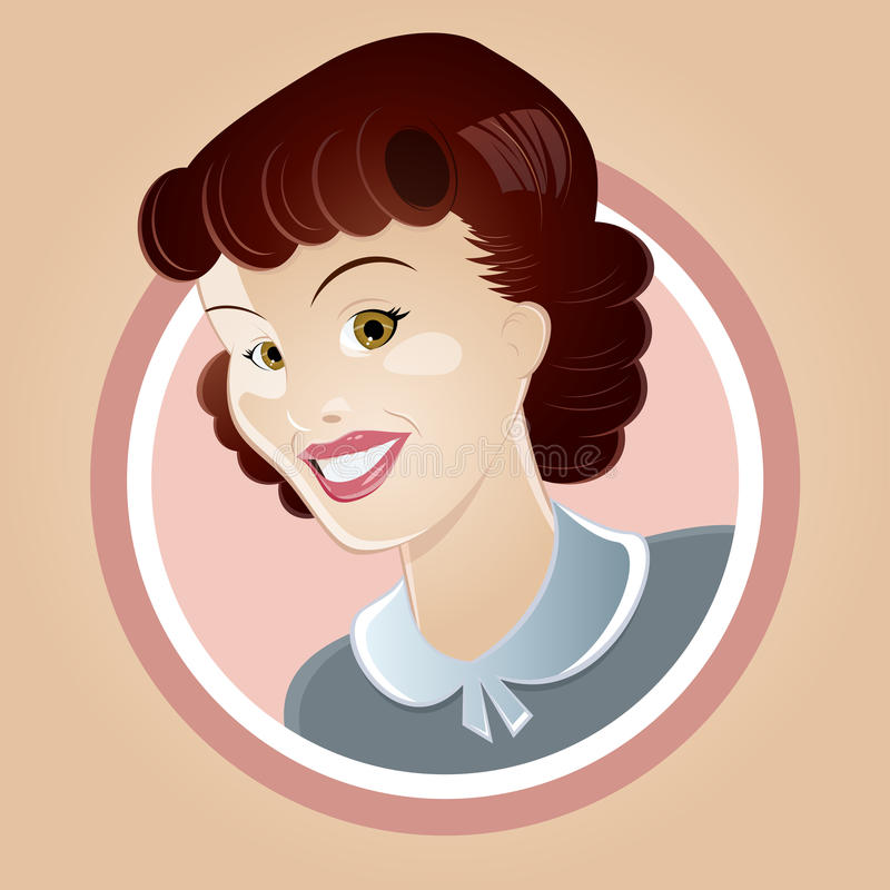 Download Retro Housewife Stock Image - Image: 28666851