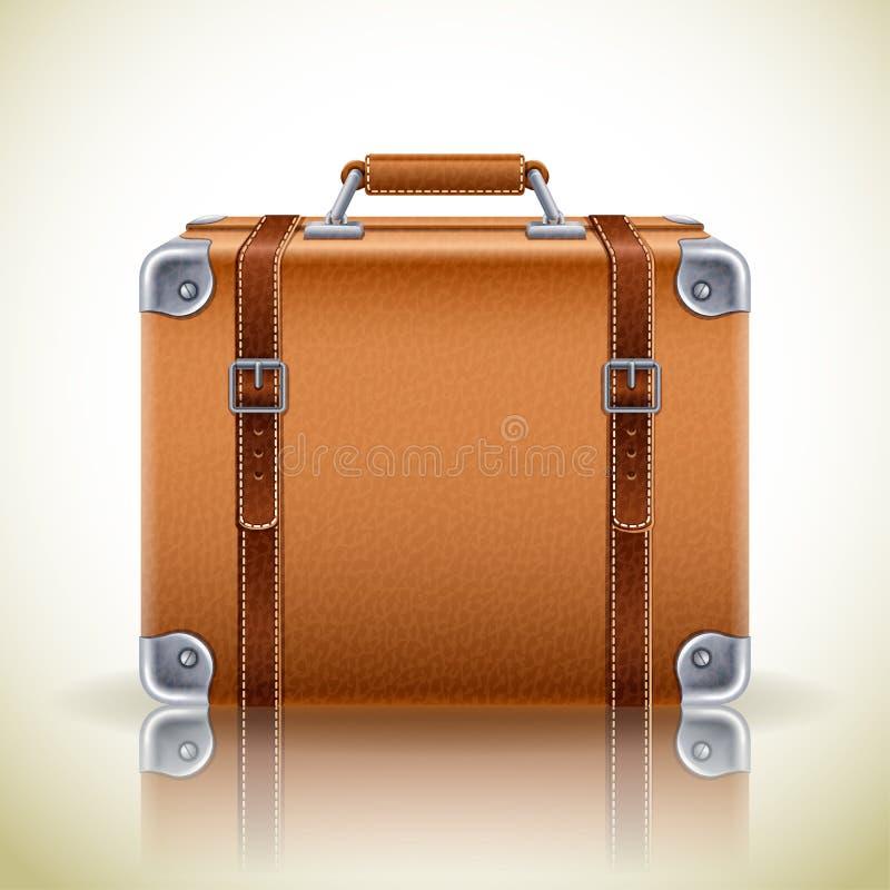 Retro icona della valigia illustrazione vettoriale