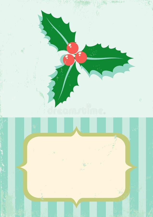 Download Retro Illustration Of Christmas Plant Stock Image - Image: 21837391