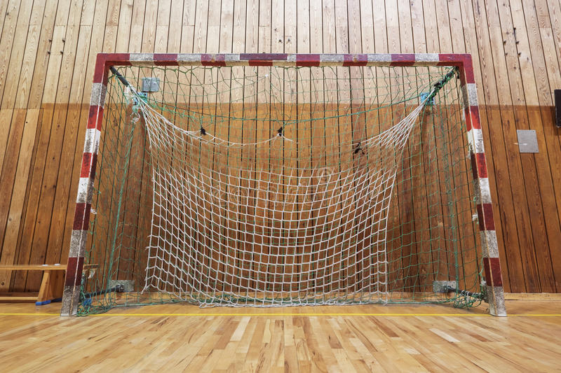 Download Retro Indoor Soccer Goal Stock Photo. Image Of Retro   67435602