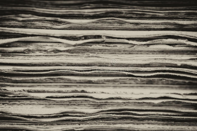 Retro inställning och effekt av antika tappningböcker arkivfoton