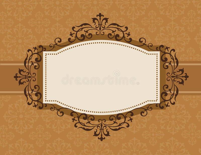 Download Retro Invitation Background Stock Vector - Image: 24165259