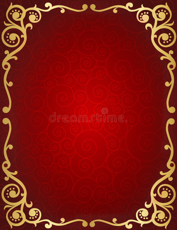 Retro Invitation Background Stock Vector Illustration of