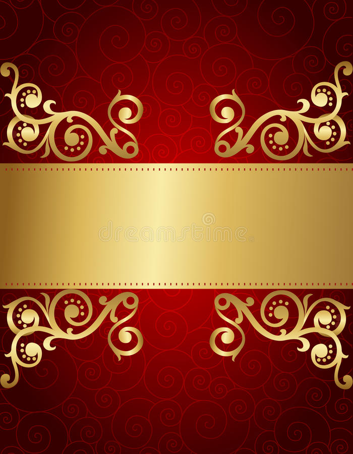 Retro Invitation Background Stock Vector - Image: 24180584