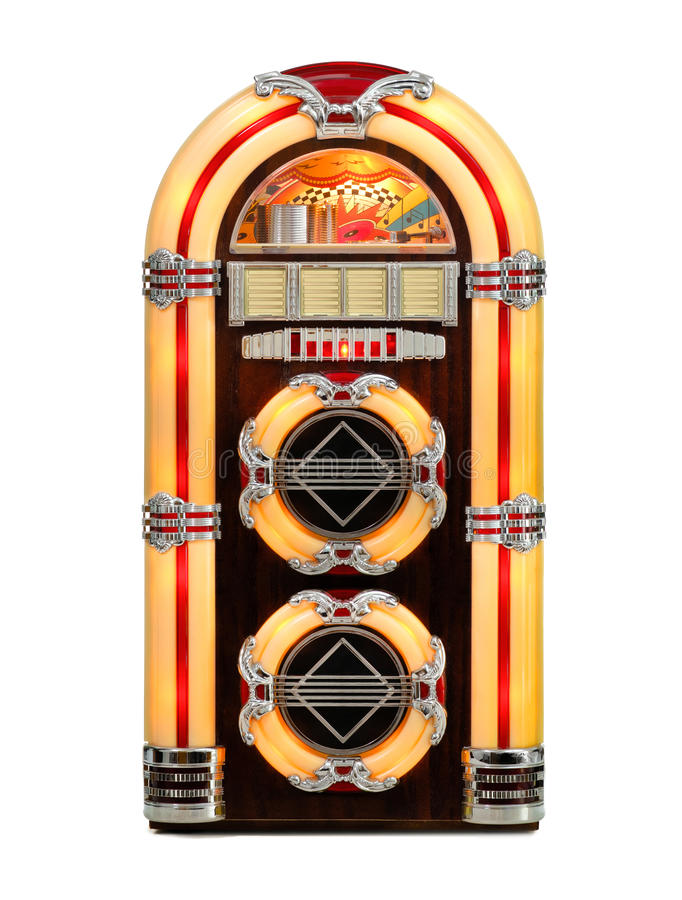 Free Retro Jukebox Isolated Royalty Free Stock Photos - 24146178