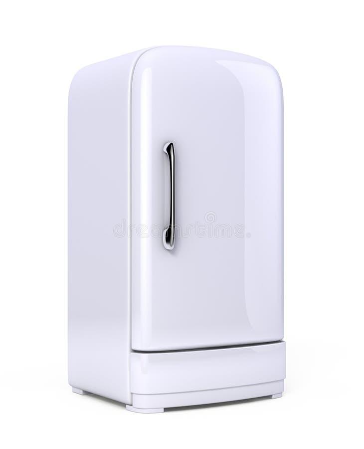 Retro- Kühlraum stock abbildung