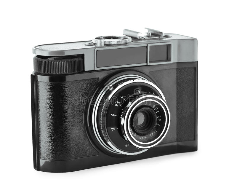 Retro- Kamera lizenzfreie stockfotografie
