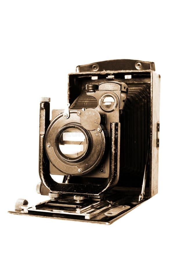 Retro- Kamera des mittleren Formats lizenzfreies stockfoto