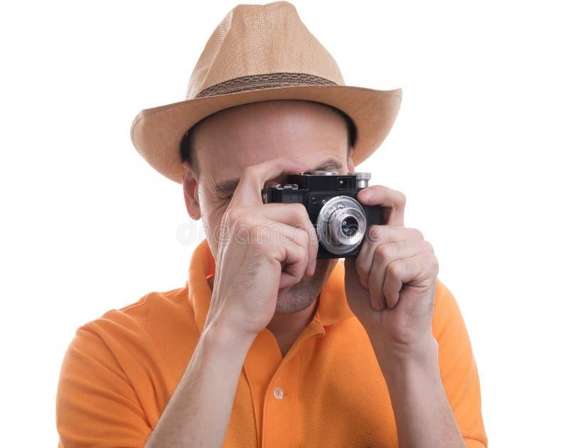 retro kamera fotograf zdjęcia royalty free