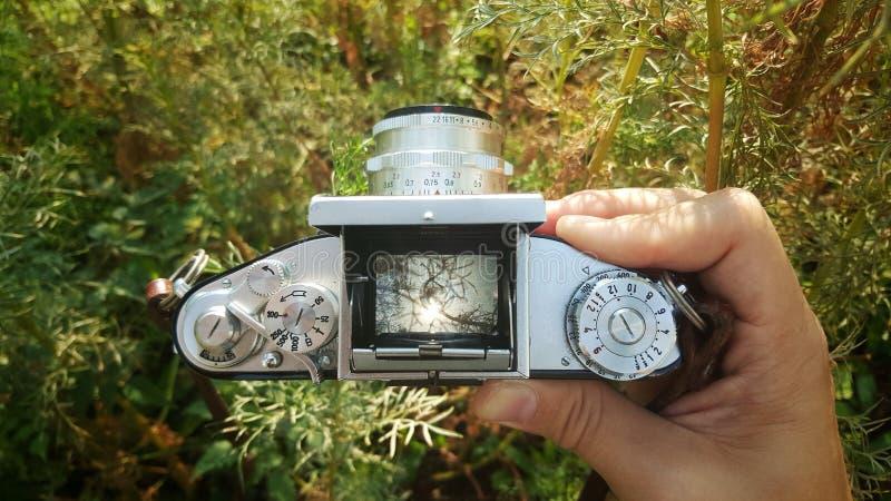 Retro kamery viewfinder zdjęcie royalty free