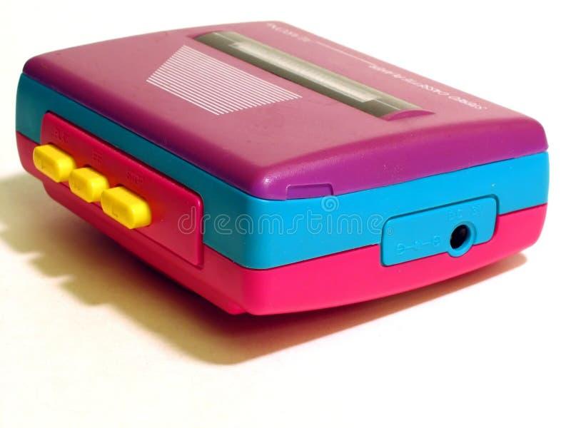 Retro Kassettspelare Arkivbild