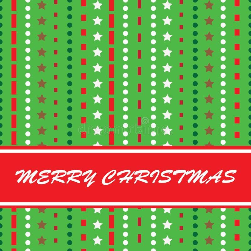 Retro Kerstmisillustratie royalty-vrije stock foto's