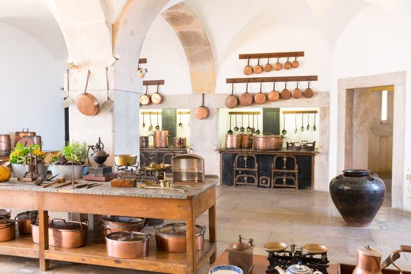 Retro keuken royalty-vrije stock foto