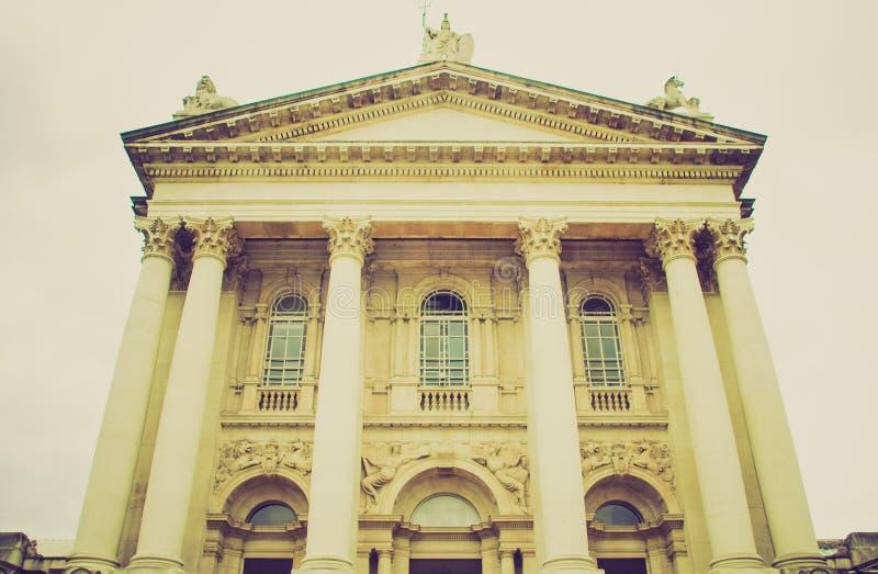 Retro kijk Tate Gallery royalty-vrije stock afbeeldingen