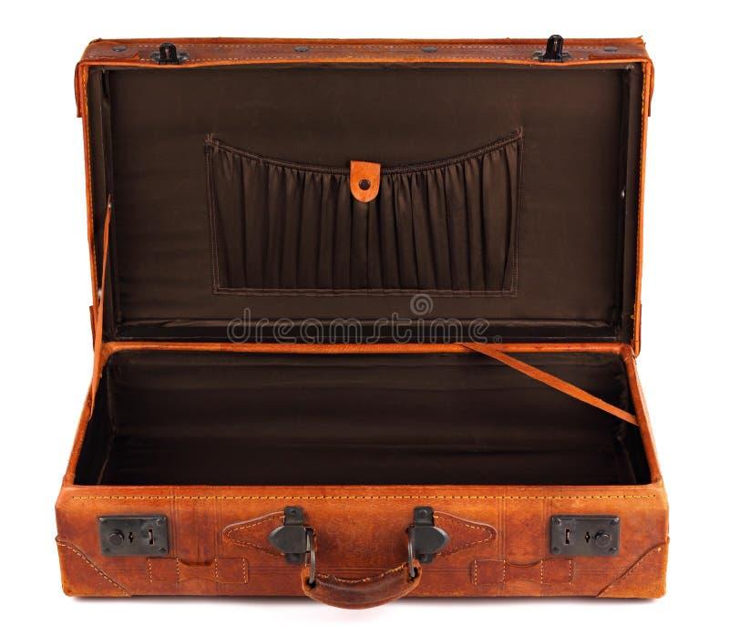 Retro- Koffer 2 lizenzfreie stockbilder