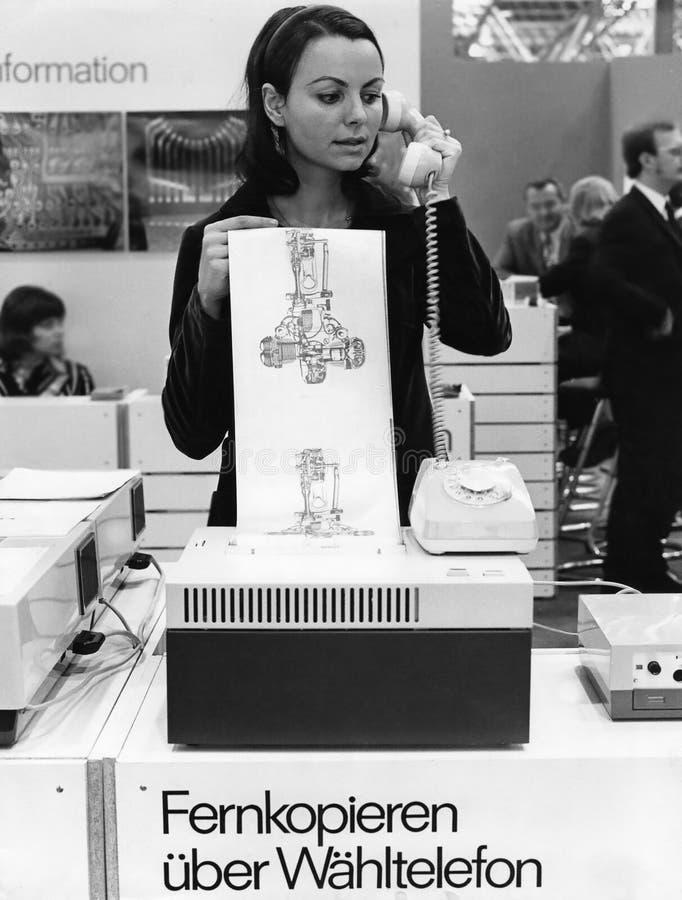 retro kommunikation royaltyfri bild