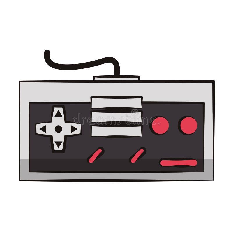 Retro- Konsole gamepad vektor abbildung