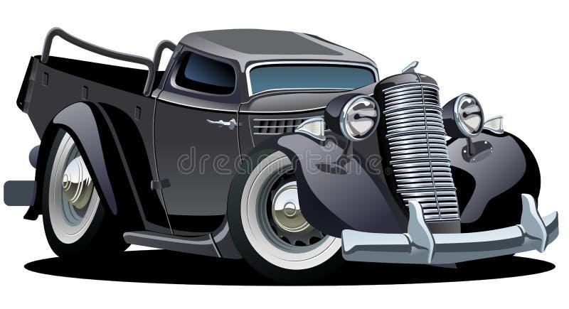 retro kreskówki pickup royalty ilustracja