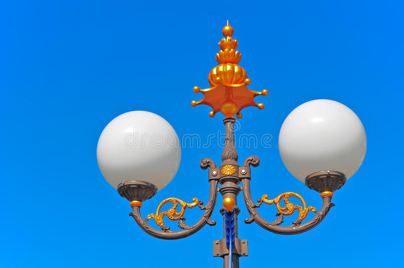 Download Retro Street Lamp Royalty Free Stock Photography - Image: 22300097