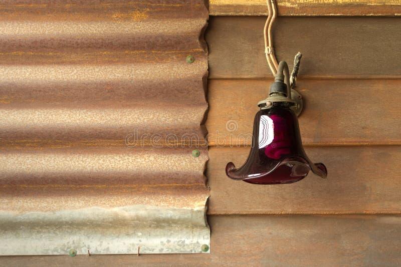 Retro lamp stock fotografie