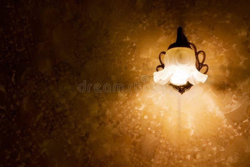 retro lampa arkivbilder