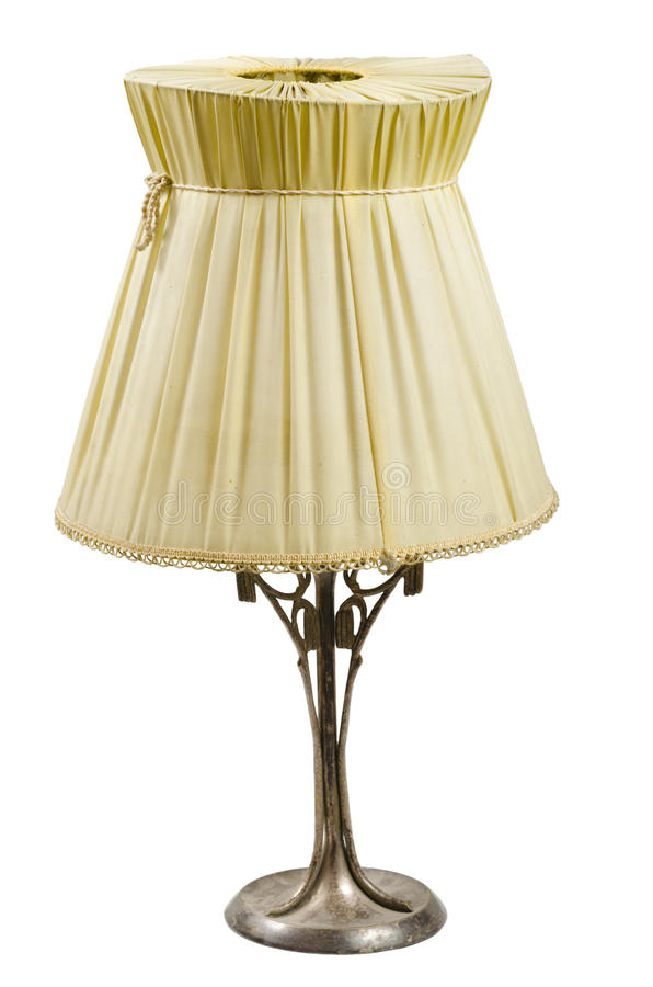 retro lampa royaltyfria foton