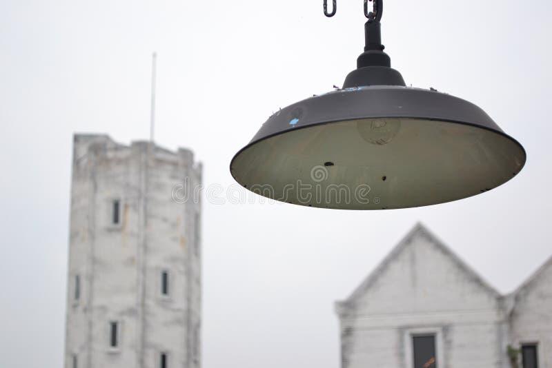retro lampa royaltyfri bild